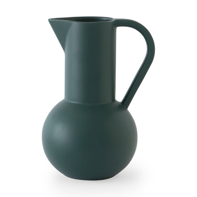 Raawii Strøm Jug in color Green Gables