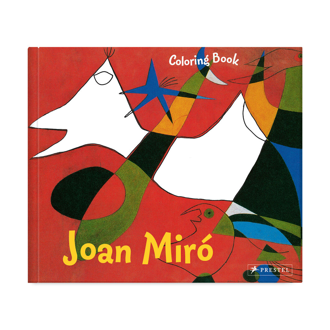 Coloring Book Joan Miro in color
