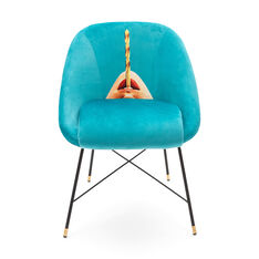 Seletti Wears Toiletpaper: Drill Chair in color