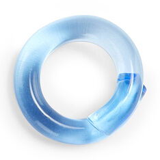 Lucite Wrap Ring in color Blue
