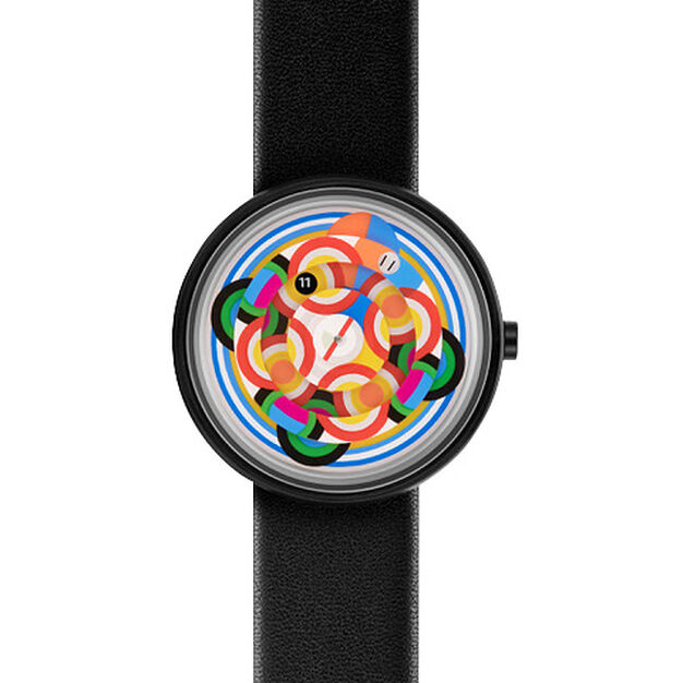 Ode to Delaunay Watch in color