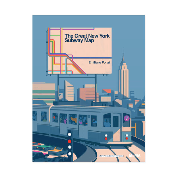 The Great New York Subway Map Book in color