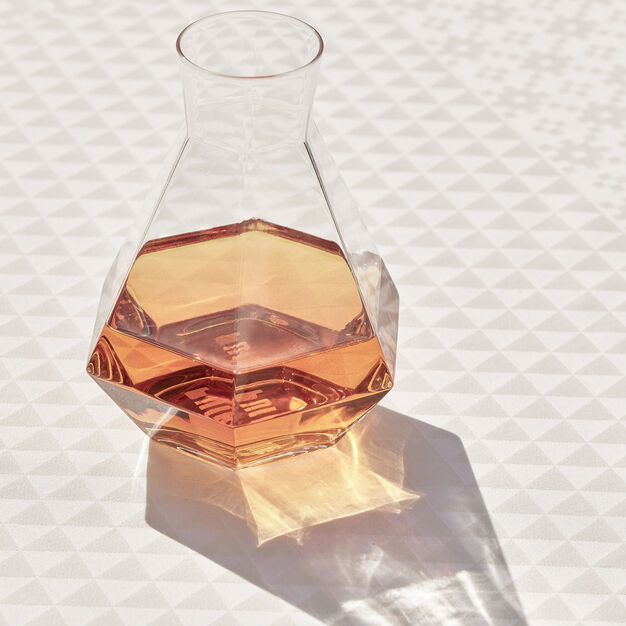 Rare Faceted Carafe in color