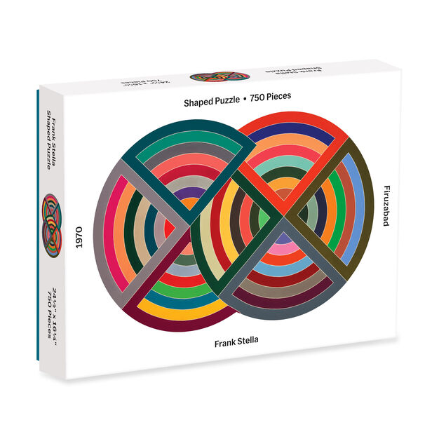 Frank Stella Jigsaw Puzzle - 750 Pieces in color
