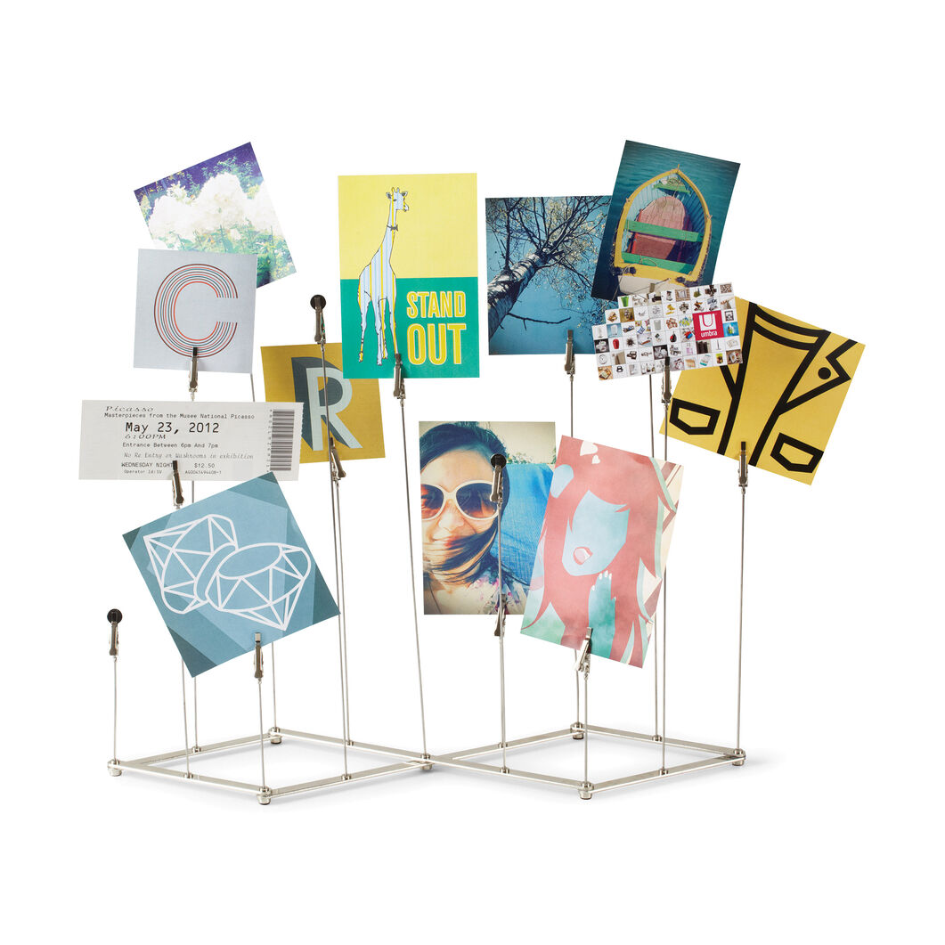 Crowd Memo and Photo Holder in color