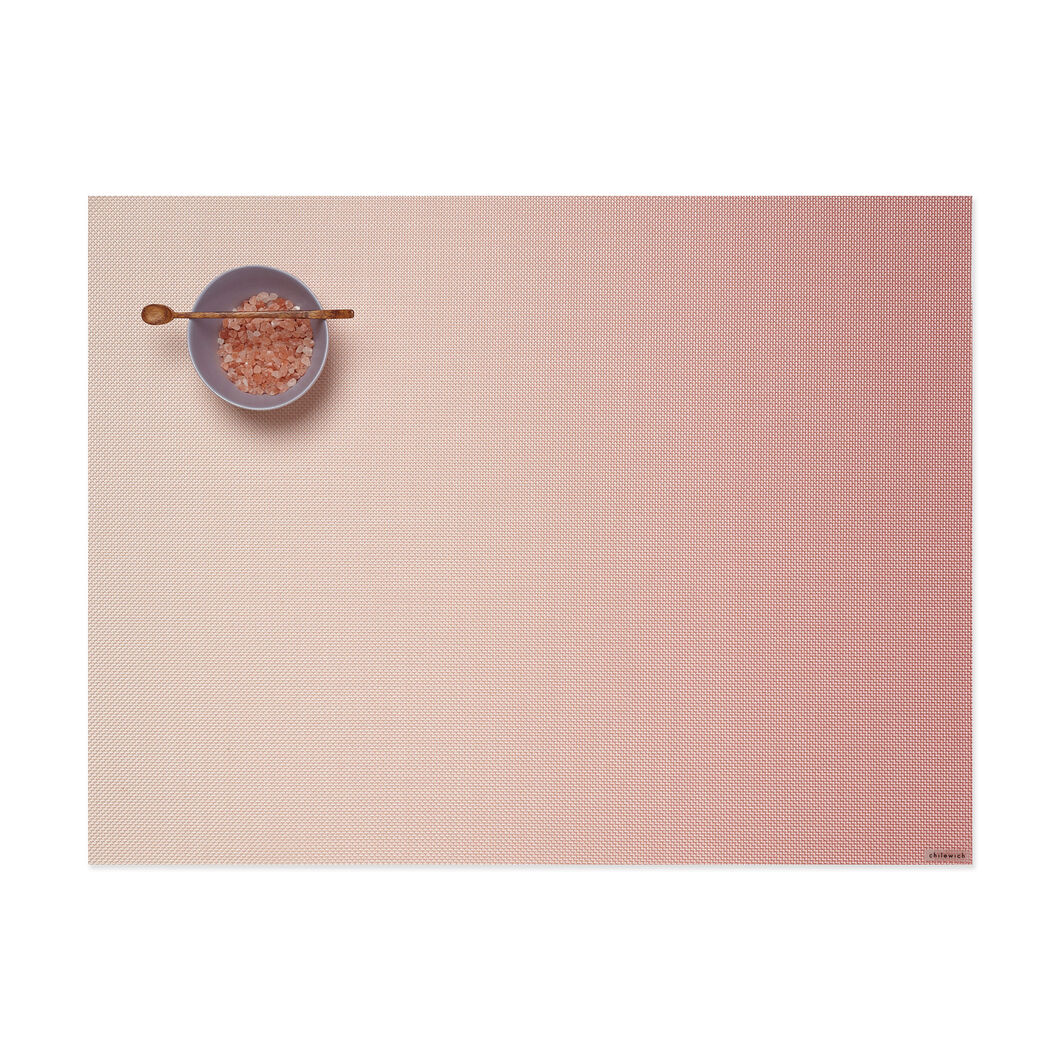 Chilewich Glow Placemat in color Guava