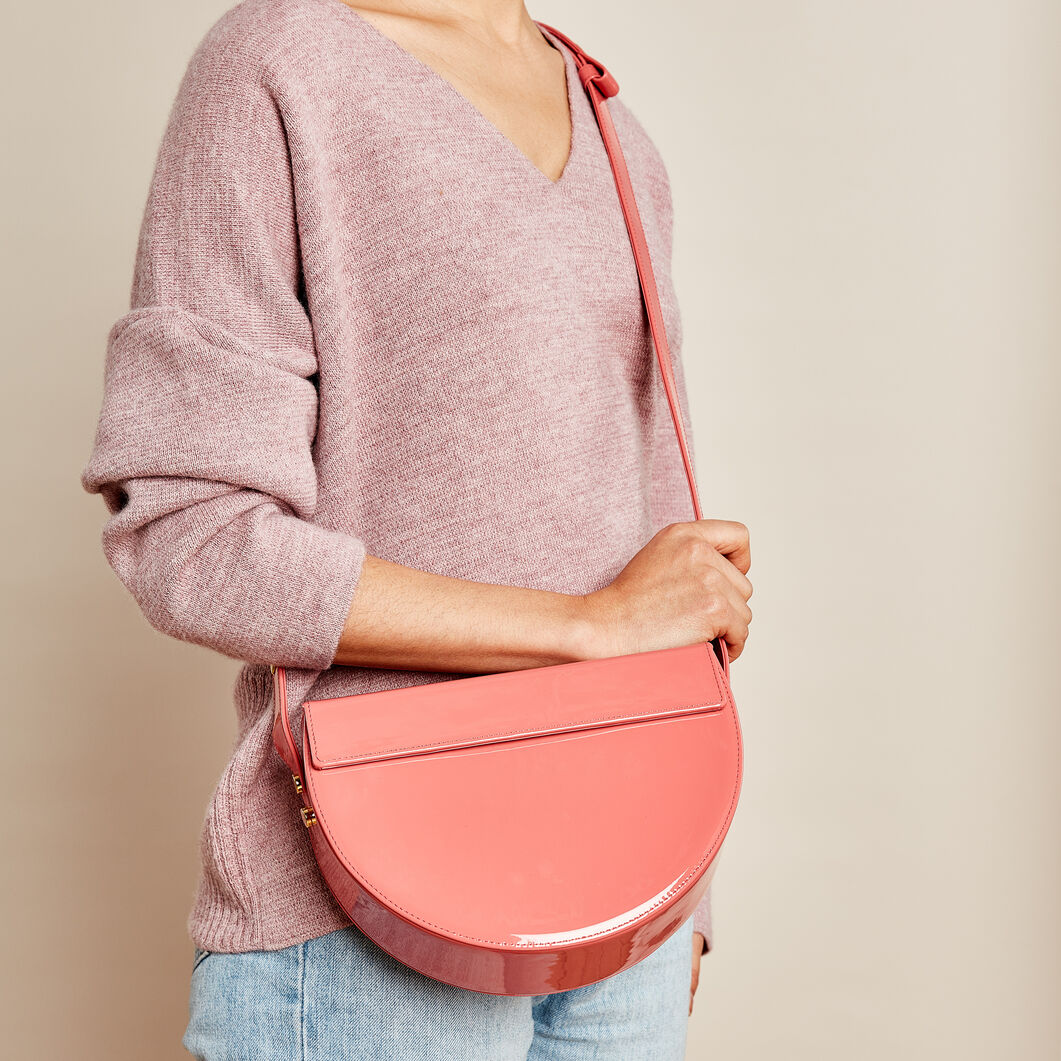 Audette Nuit Bag in color Terracotta