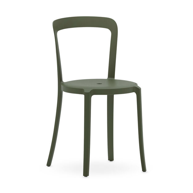 Emeco On & On Recycled Stackable Chair in color Cypress Green