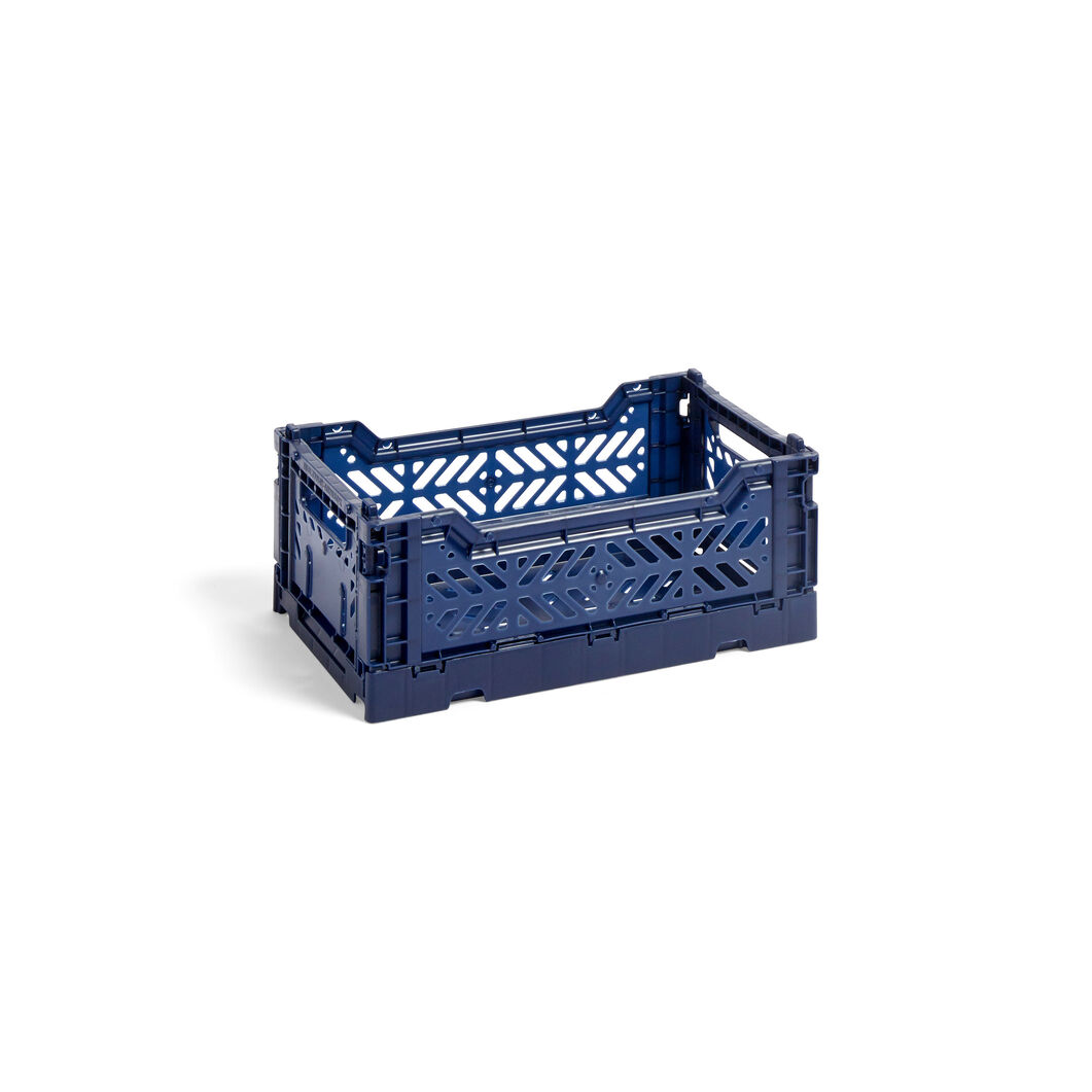 HAY Collapsible Storage Bins in color Navy