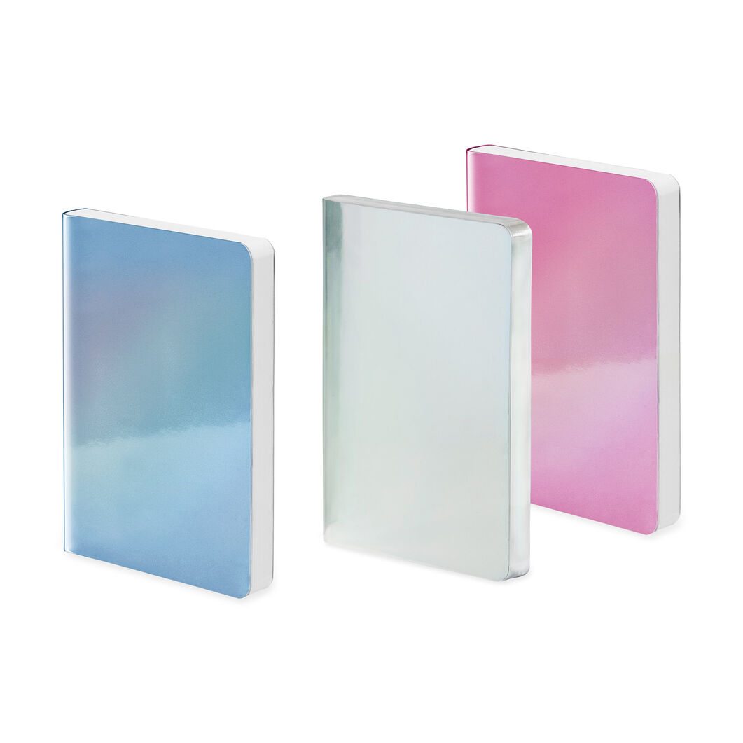 Holographic Notebook in color Blue