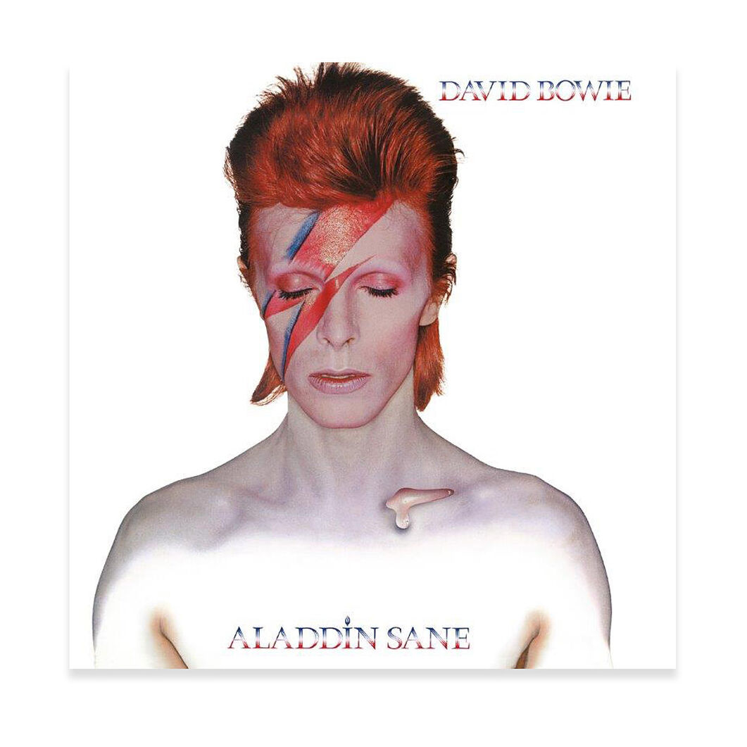 David Bowie: Aladdin Sane Vinyl Record in color