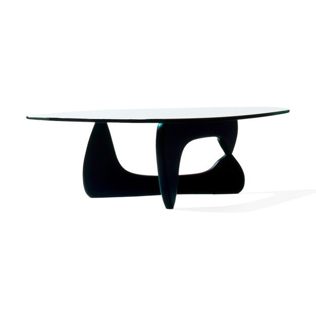 Noguchi Coffee Table in color Transparent/ Black