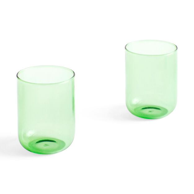 HAY Tint Glasses - Set of 2 in color Green