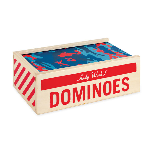 Andy Warhol Dominoes in color