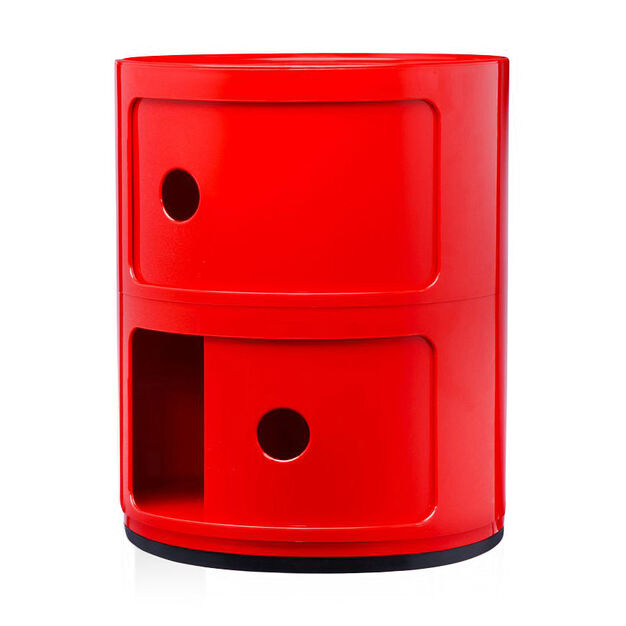 Componibili 2 Tier by Kartell in color Red