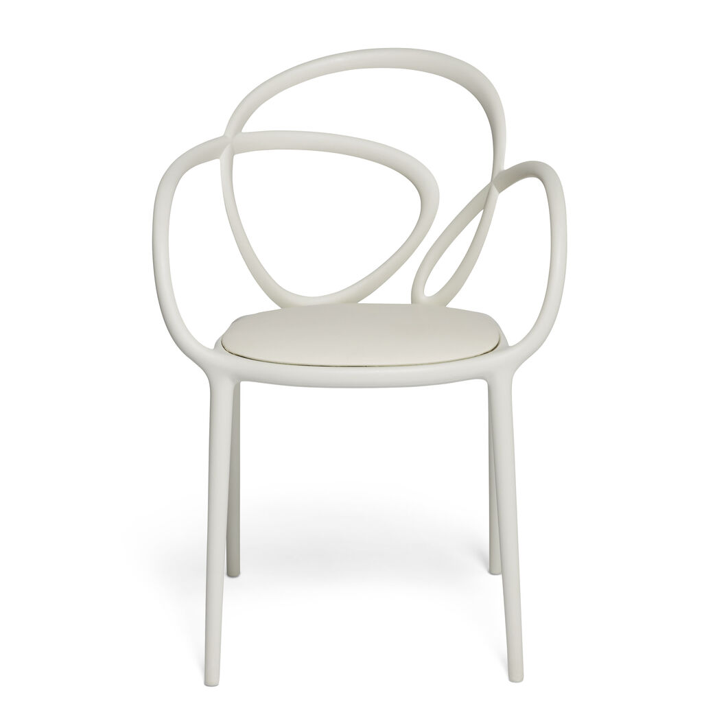 Loop Chair in color White