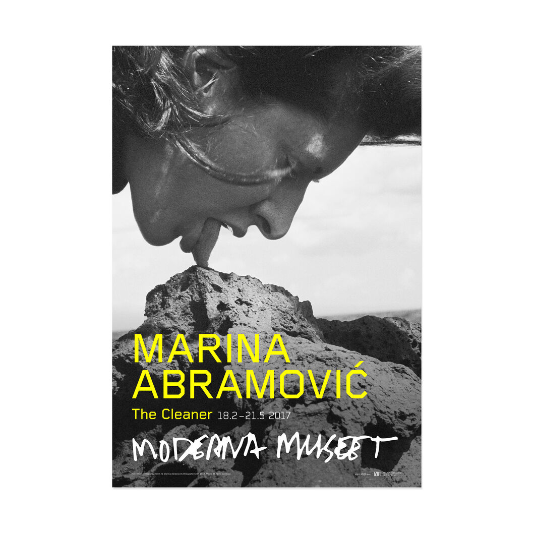 Marina Abramovic: Stromboli III Vulcano in color