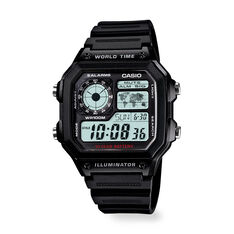 Casio World Time Watch in color