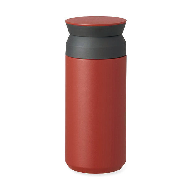 Kinto Vacuum Insulated Travel Tumbler in color Red