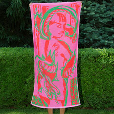 Warm Up Capsule Collection: Beach Towel by Come Tees in color