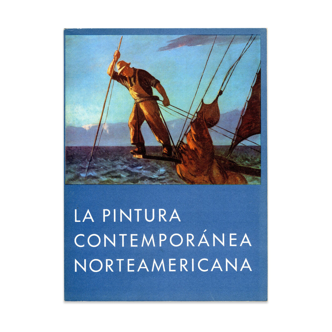 La Pintura Contemporanea Norteamericana - Hardcover in color