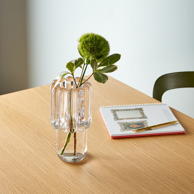 Tom Dixon Press Glass Vase in color