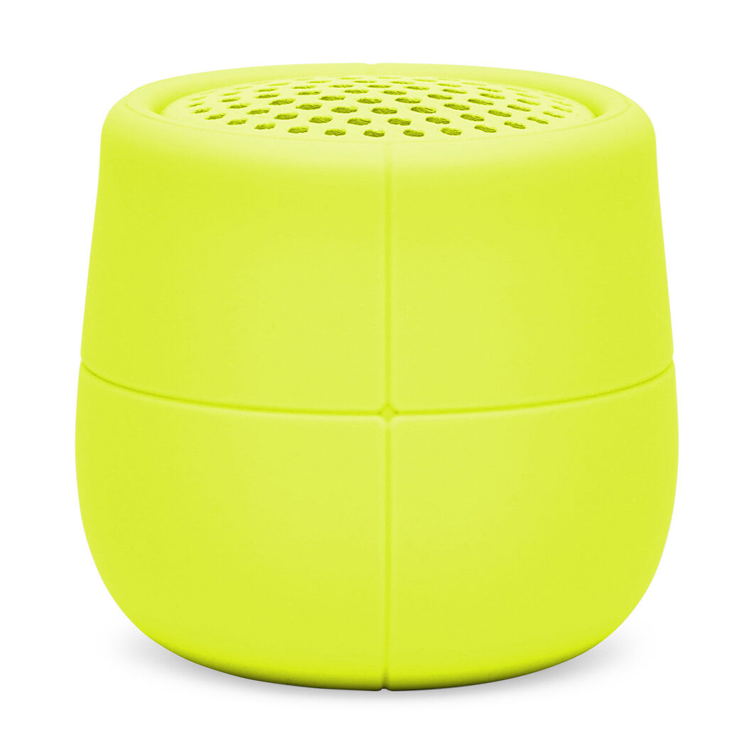 Lexon Mino X Waterproof Speaker in color Yellow