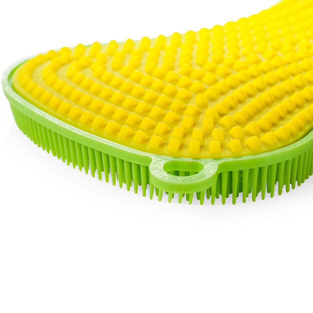 Silicone Scrubbies in color Lime/ Yellow