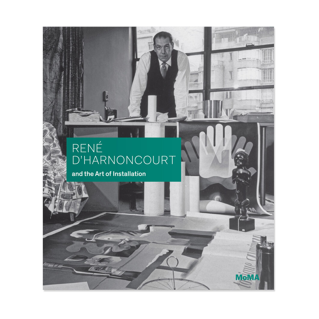 René d'Harnoncourt and the Art of Installation - Hardcover in color