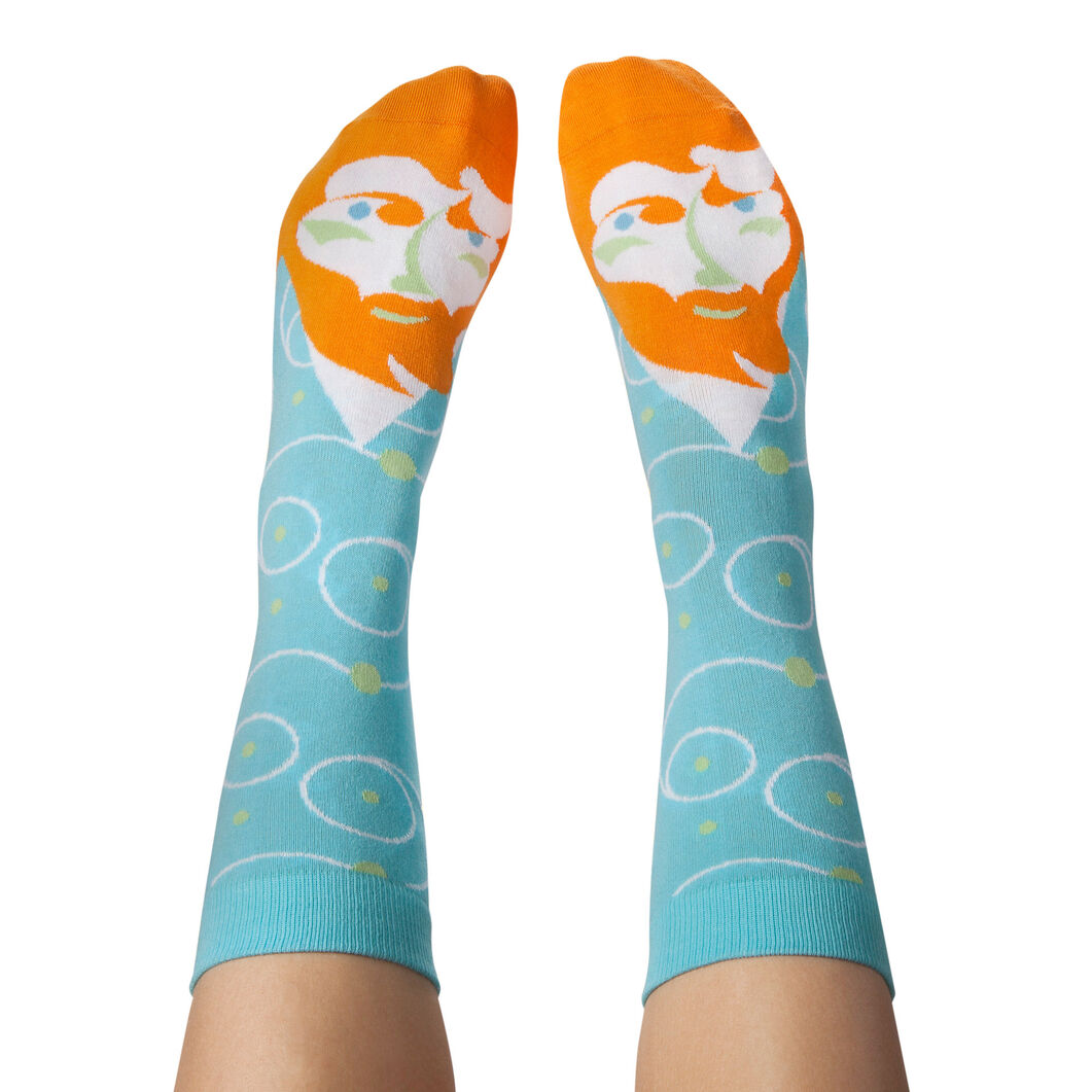 Chatty Feet Artist Socks Set in color Multi