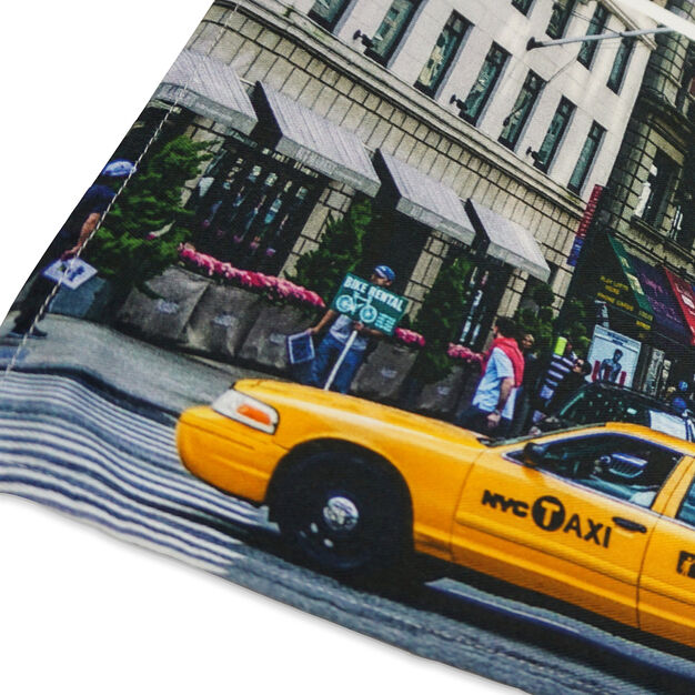 New York Taxi Tea Towel in color