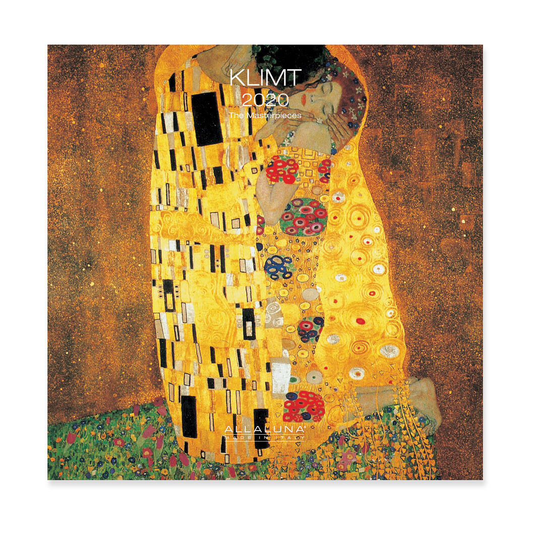 2020 Klimt Mini Wall Calendar in color