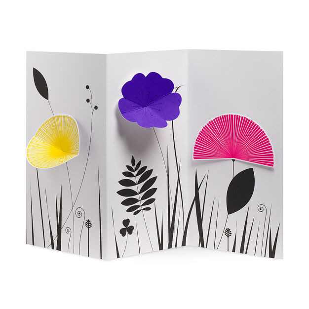 Blooming Garden Note Cards in color