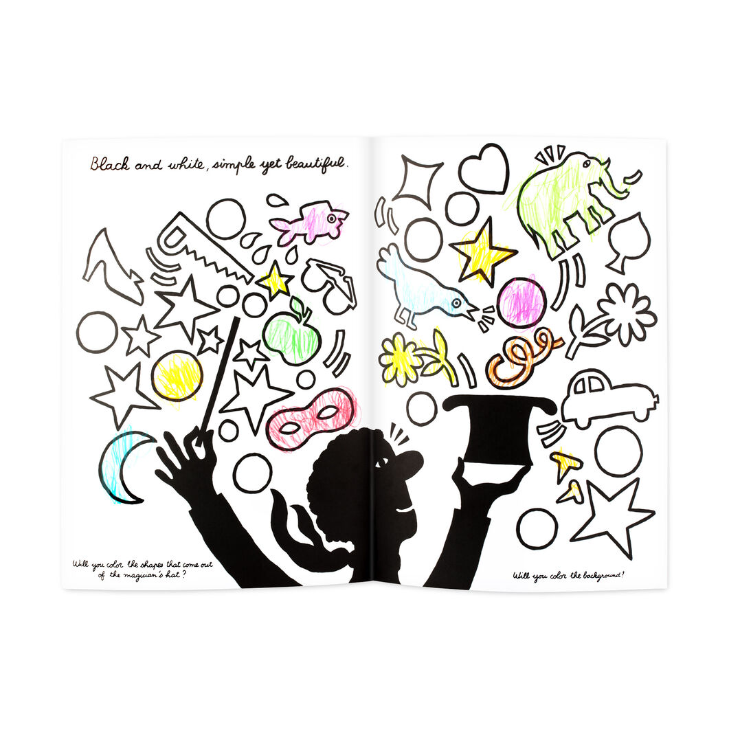 The Color-Play Coloring Book in color