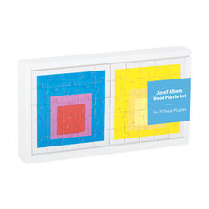 Josef Albers Puzzle Set in color