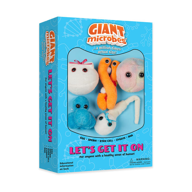 Let's Get It On Plush Set in color