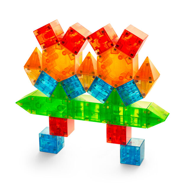 Magna-Qubix® 3D Magnetic Building Blocks in color
