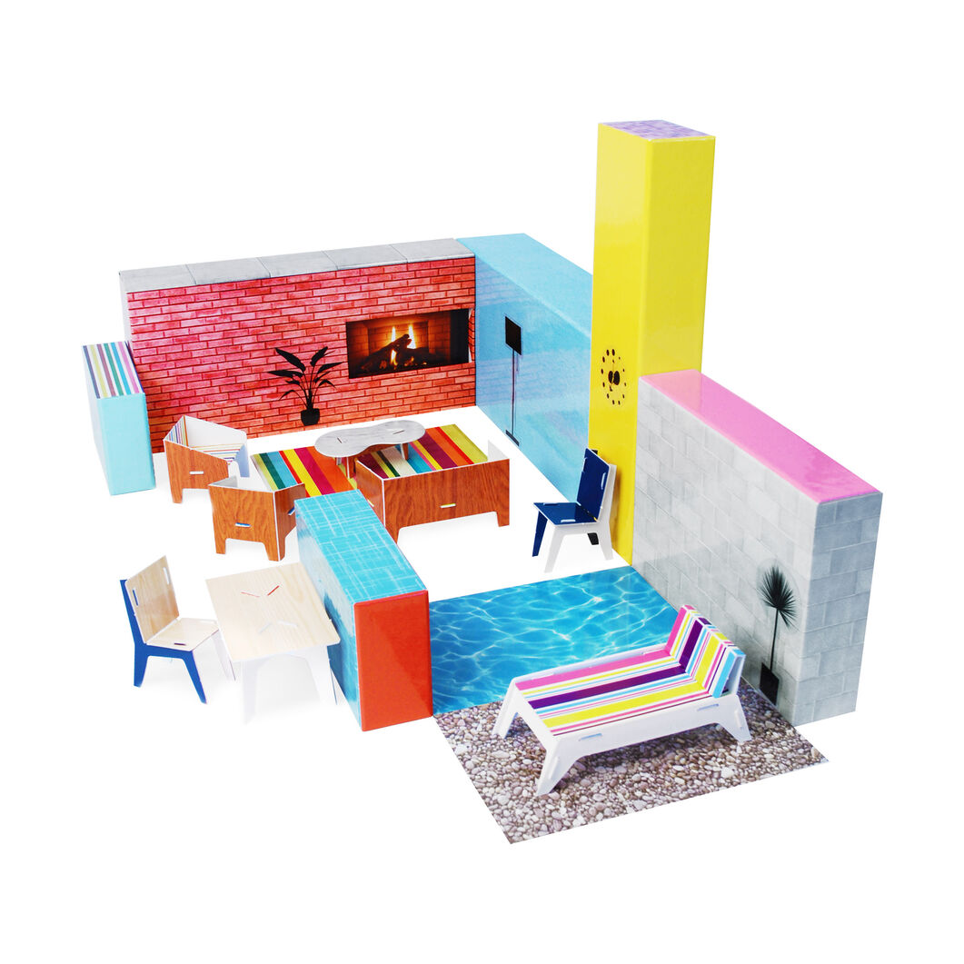 MoMA Modern Play House in color