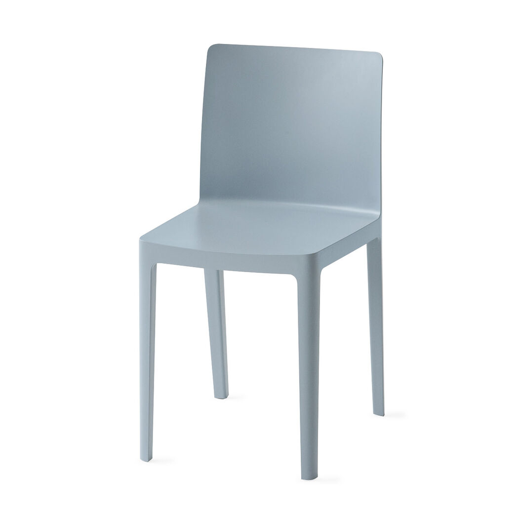 HAY Élémentaire Chairs in color Blue/ Gray