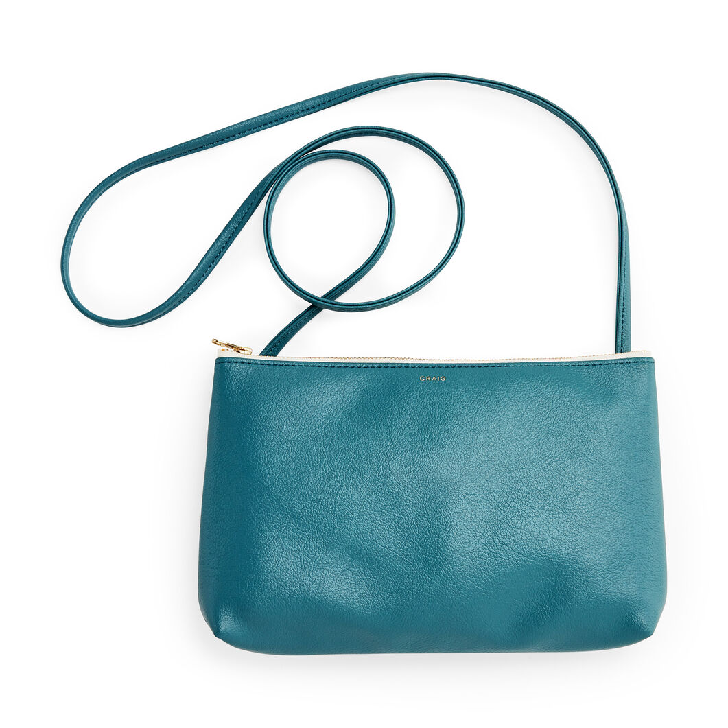Delfonics Craig Crossbody Bag in color Teal
