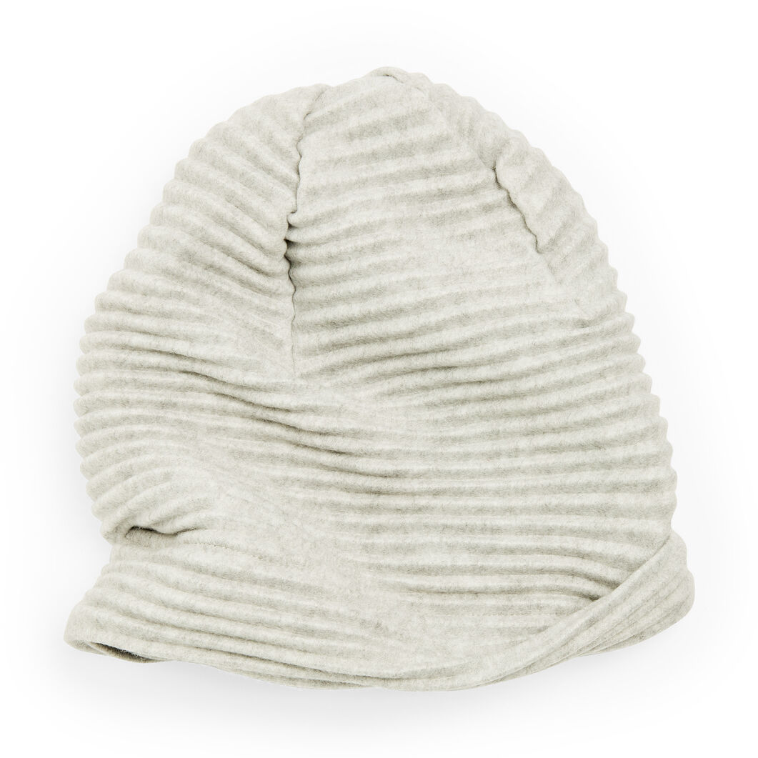 Fleece Beanie in color Gray