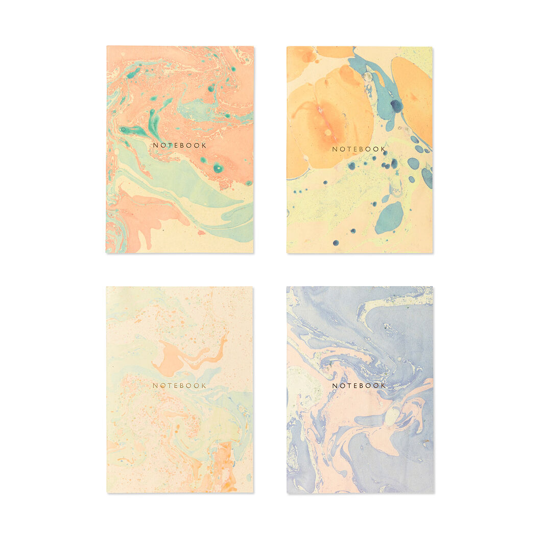Marble Notebook in color Orange