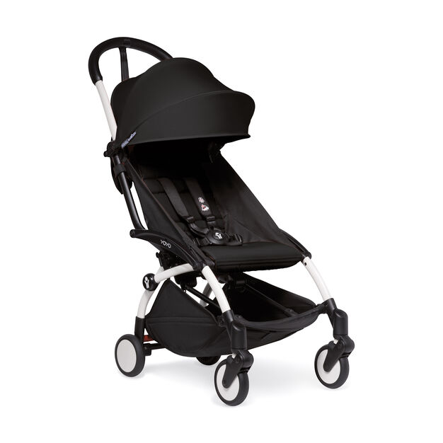 """<div>Babyzen™ <span style=""""font-weight: 400;"""">YOYO<sup><span style=""""font-weight: 400;"""">2</span></sup></span> 6+ Complete Stroller</div> in color Black/White"""