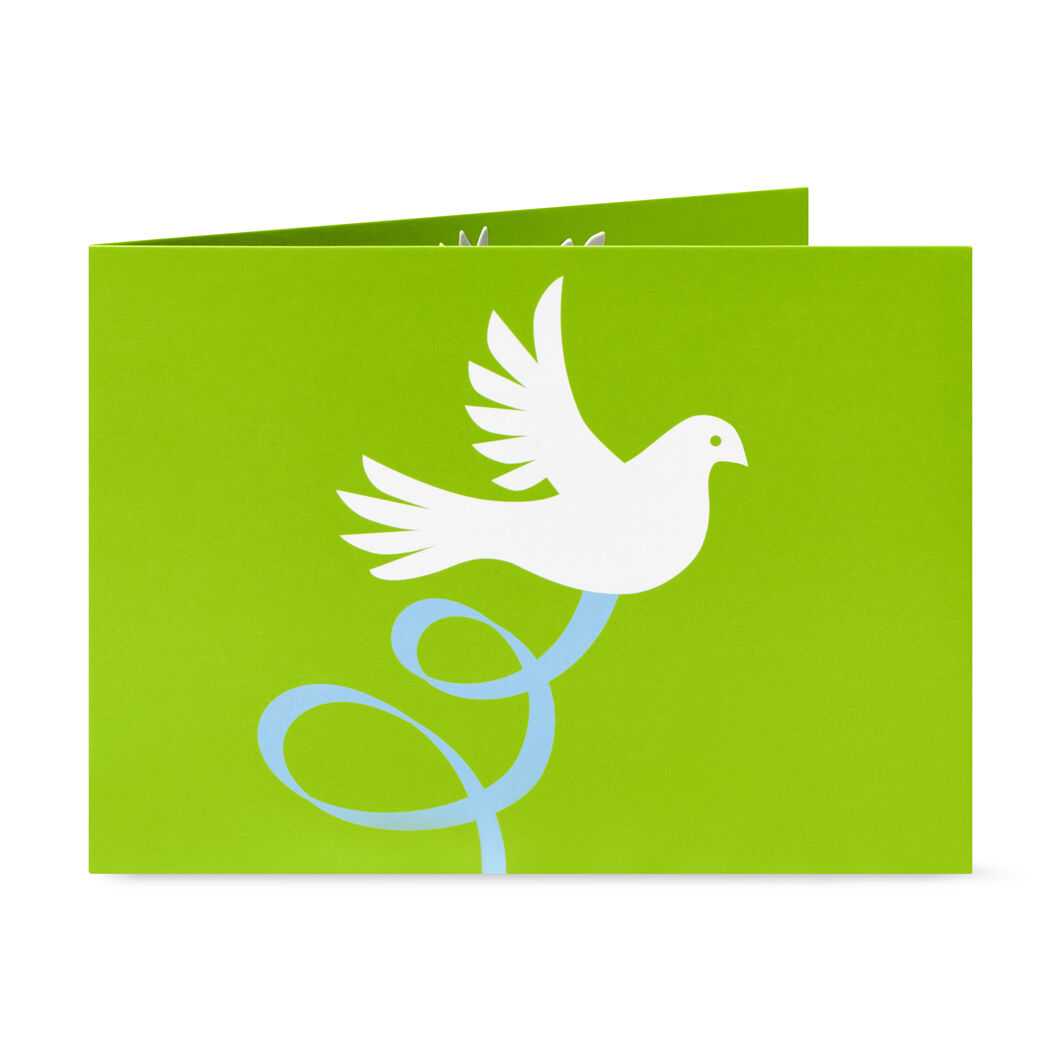 Peace and Joy Holiday Cards - Set of 8 in color
