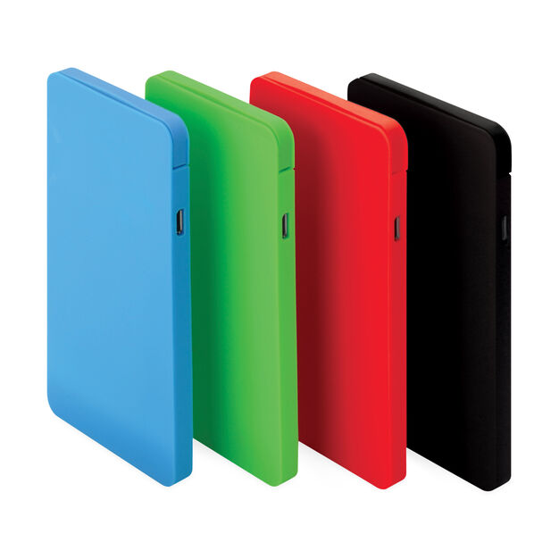 Energy Slim Power Bank - Red in color Red