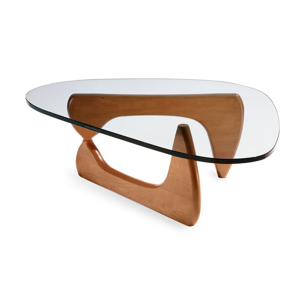 Walnut Base Noguchi Coffee Table in color