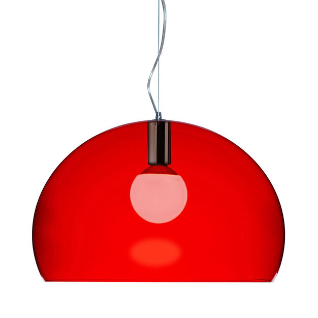 FL/Y Pendant Light by Kartell in color Red