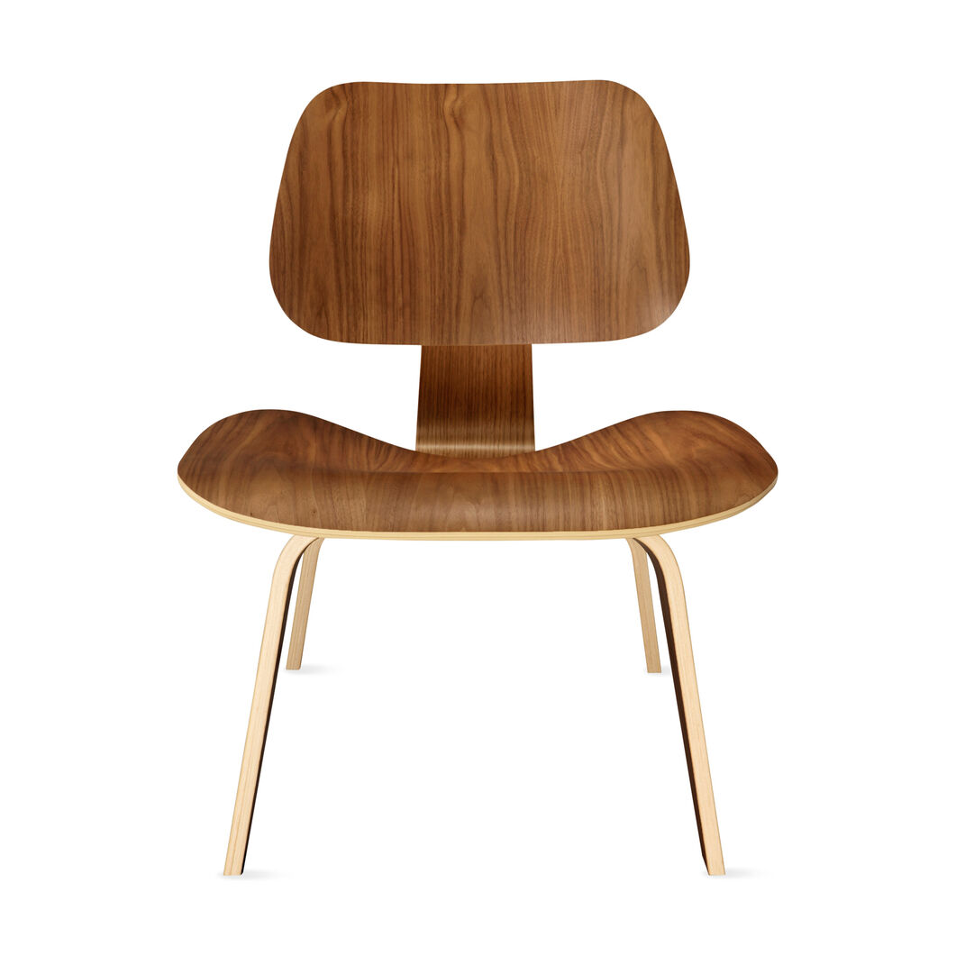 Eames® LCW Chair in color Walnut