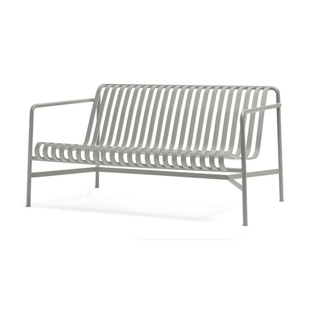 HAY Palissade Outdoor Lounge Sofa in color Sky Grey