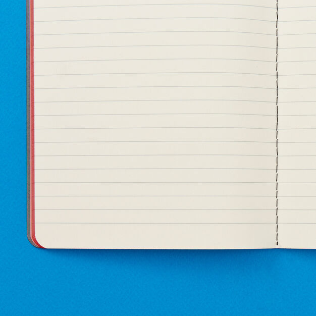 Traditional Italian Lined School Notebook in color